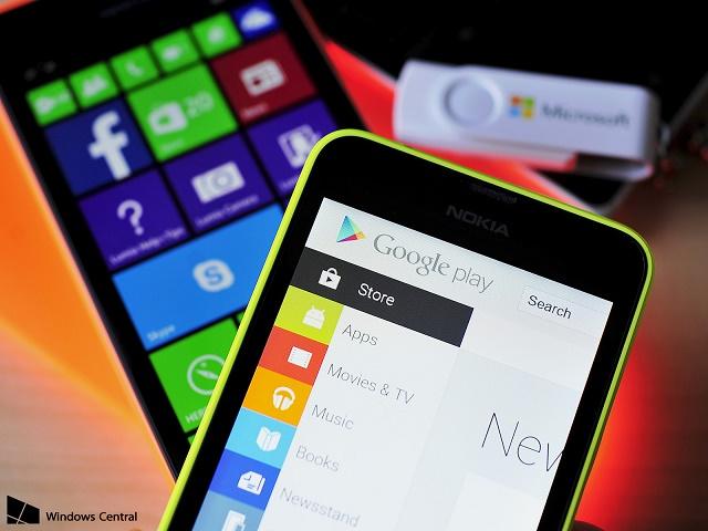 Plani B i Microsoft: Implementimi i aplikacioneve Android në platformën Windows Phone