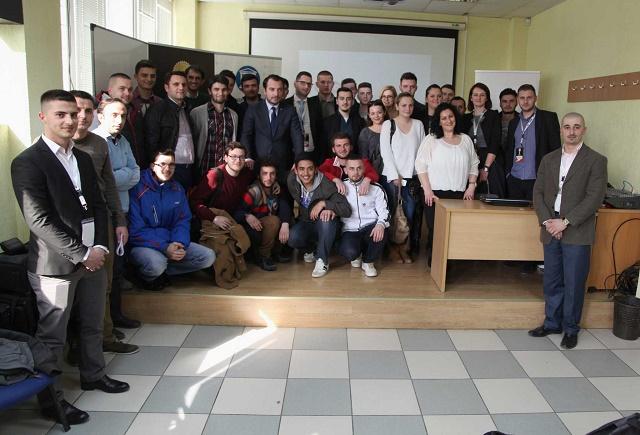 Albanian ICT Awards takimin e radhës ia dedikoi Universitetit për Biznes dhe Teknologji në Prishtinë