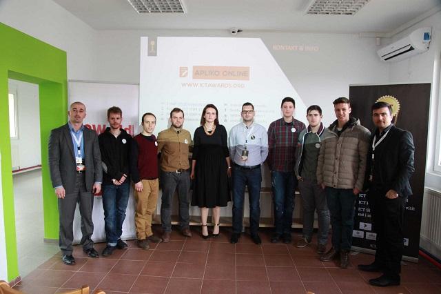 Albanian ICT Awards u zhvendos për në Gjakovë ku kreu një vizitë pranë qendrës Bonevet