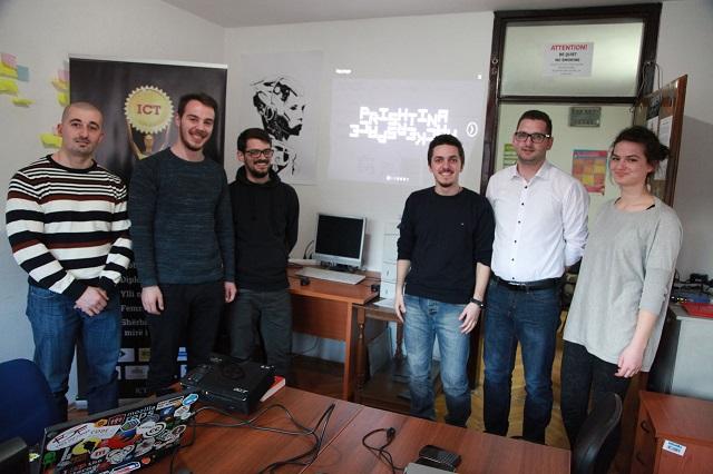 Ekipi i Albanian ICT Awards vizitoi ditën e sotme qendrën Prishtina HackerSpace