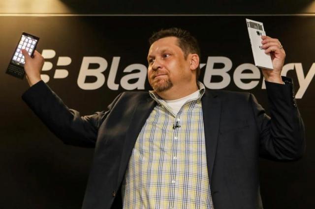 BlackBerry prezanton Leap, smartfonin me ekran me prekje