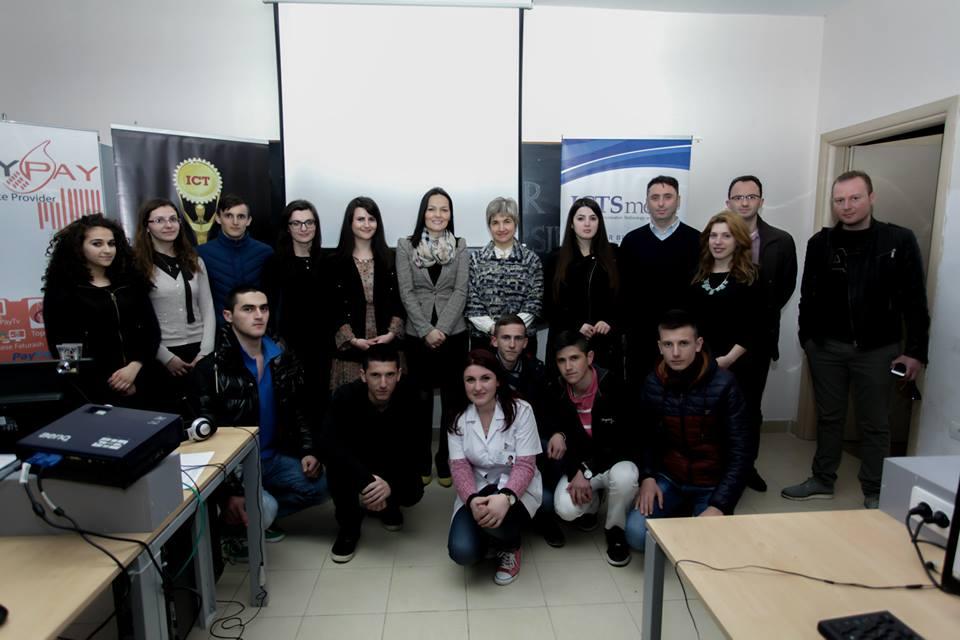 ICT Awards III lë Prishtinën për tu takuar me nxënësit e shkollës së mesme profesionale në Kamëz
