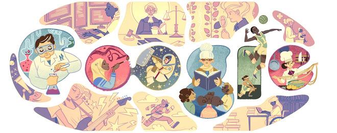 Google uron femrat këtë 8 mars përmes logos së saj