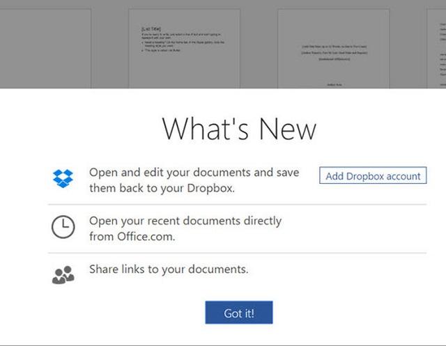Office Online dhe Dropbox: Një bashkëpunim i frytshëm