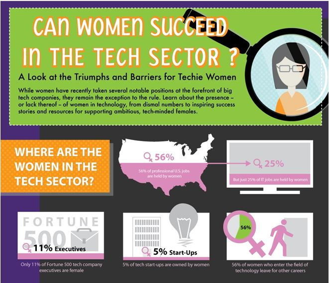 Can Women Succeed in the Tech Sector