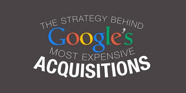 Pse Google shpenzon miliarda dollar në blerje të kompanive?