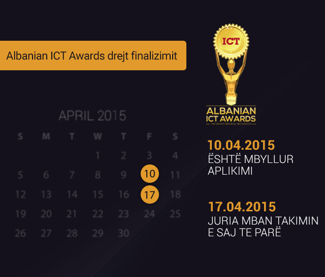 ICT AWARDS - Drejt Finzalizimit
