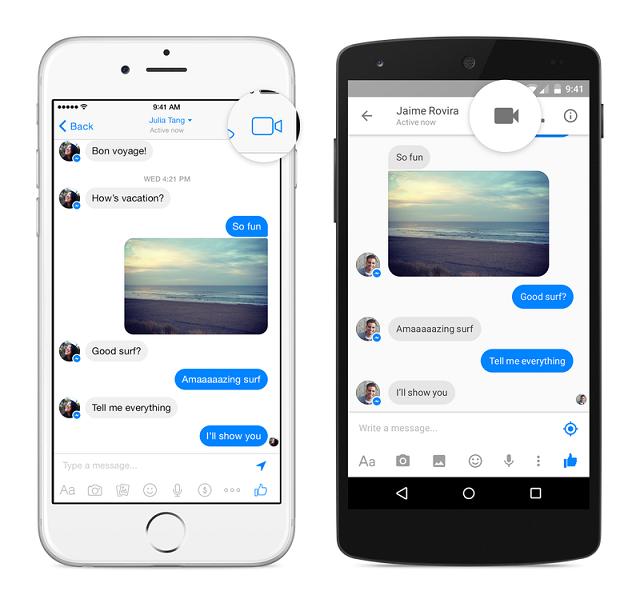 Facebook Messenger sjell bashkëbisedimin me video në aplikacionet Android dhe iOS