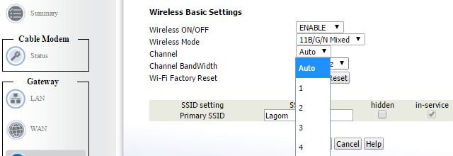 WiFi-Channel