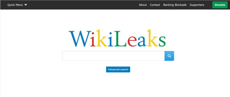 Wikileaks ridizenjon uebfaqen për të ngjasur së tepërmi me Google