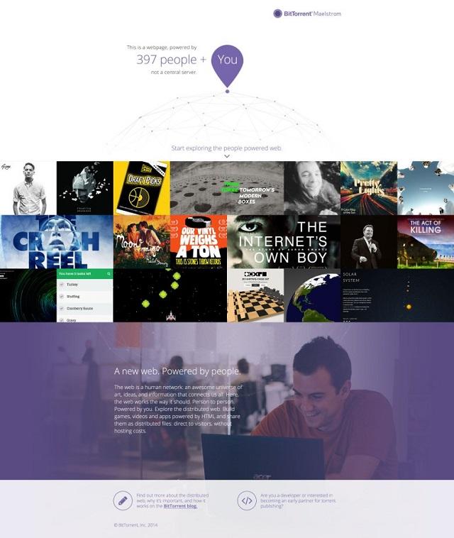 Bitorrent publikoi versionin e parë të shfletuesit të së ardhmes: Projekti Maelstrom