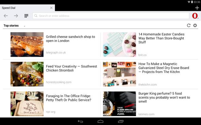Opera ka lançuar një version të ridizenjuar të Opera Mini për Android