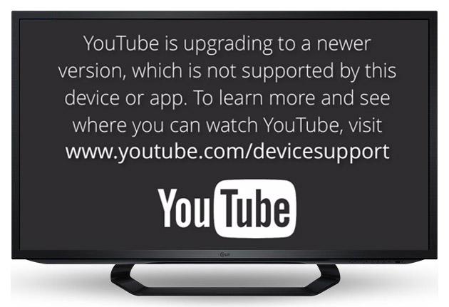 Aplikacioni YouTube do të ndalojë së funksionuari në tabletët, televizorët dhe smartfonët e para 2012-tës