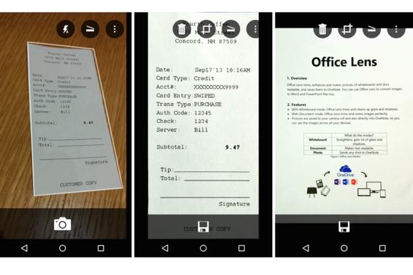 Microsoft debuton aplikacionin Office Lens në Android dhe iOS