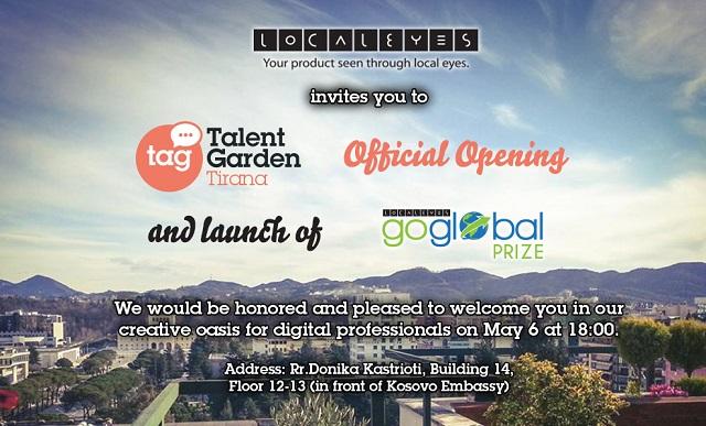 LocalEyes sjell iniciativën Talent Garden në Shqipëri