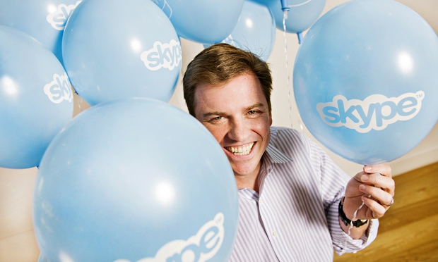 Skype chief executive Tony Bates.