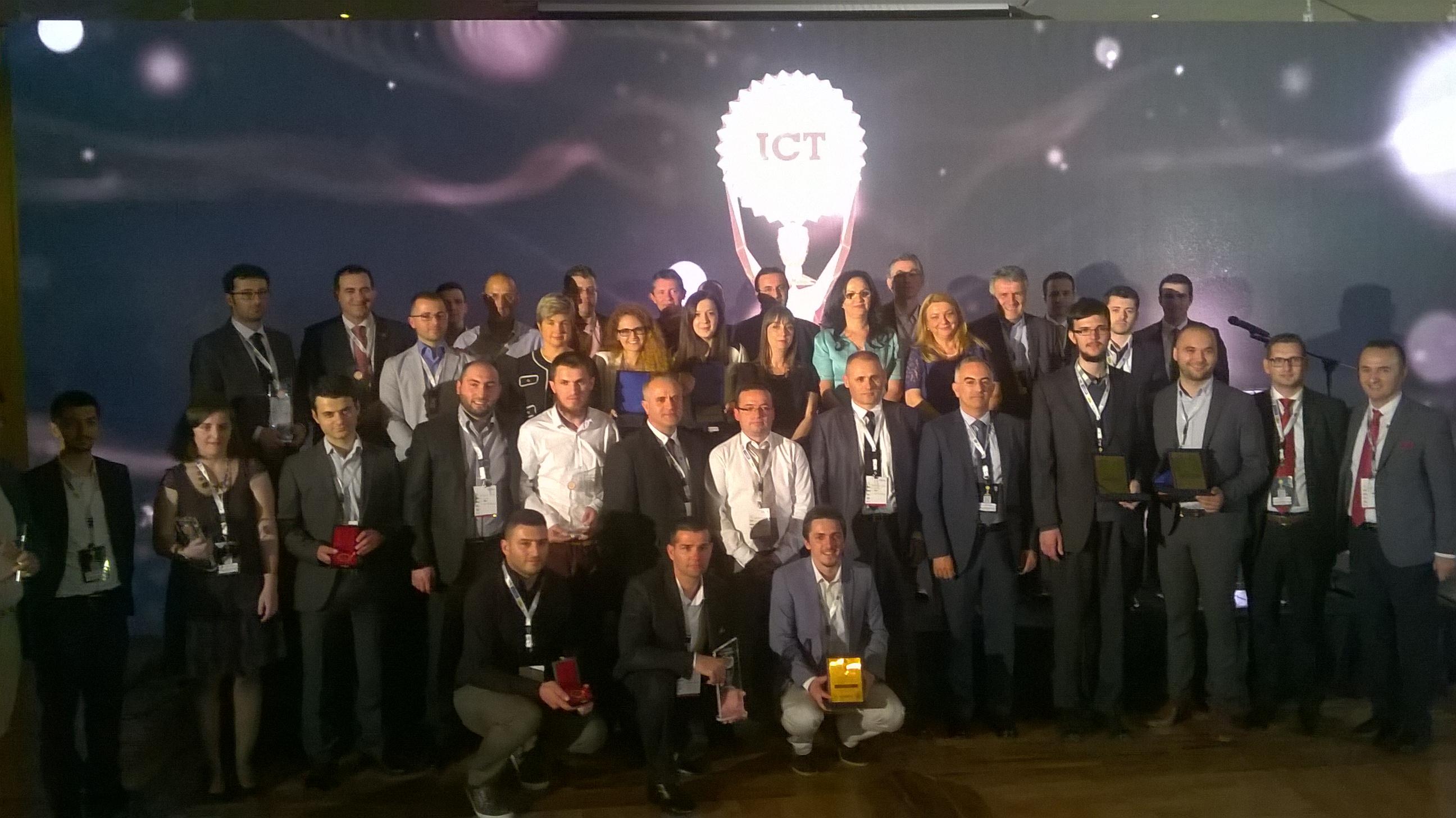 Po mbahet evenimenti i Natës Gala të konkursit mbarëkombëtar Albanian ICT Awards III (Live)