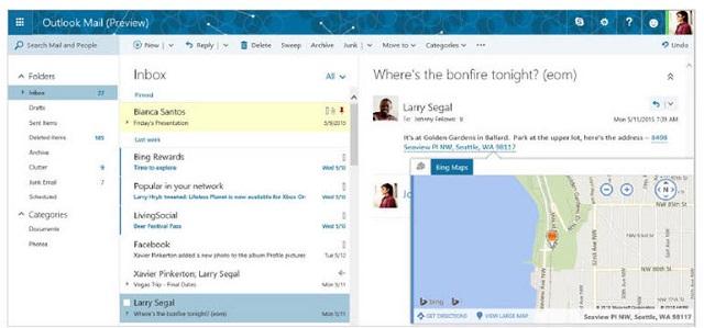 Microsoft po punon në një Outlook.com të ri. Sjell ndërfaqen e postës elektronike të Office 365 edhe për konsumatorët individualë