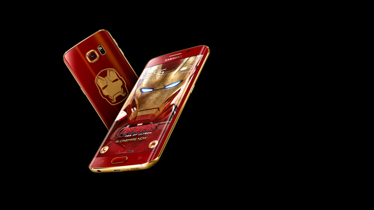Samsung prezanton versionin e limituar Galaxy S6 Edge Iron Man frymëzuar filmi Avengers