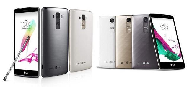 LG sjell dy smartfonë të rinj nën linjën G4