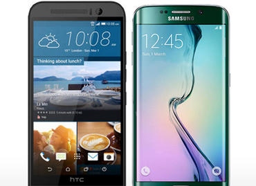 new-htc-one-m9-and-samsung-galaxy-s6-focus-on-design