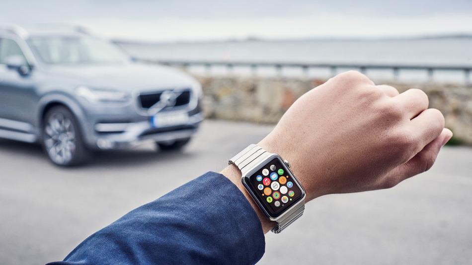 Volvo do të sjellë kontrollin e automobilave përmes Apple Watch