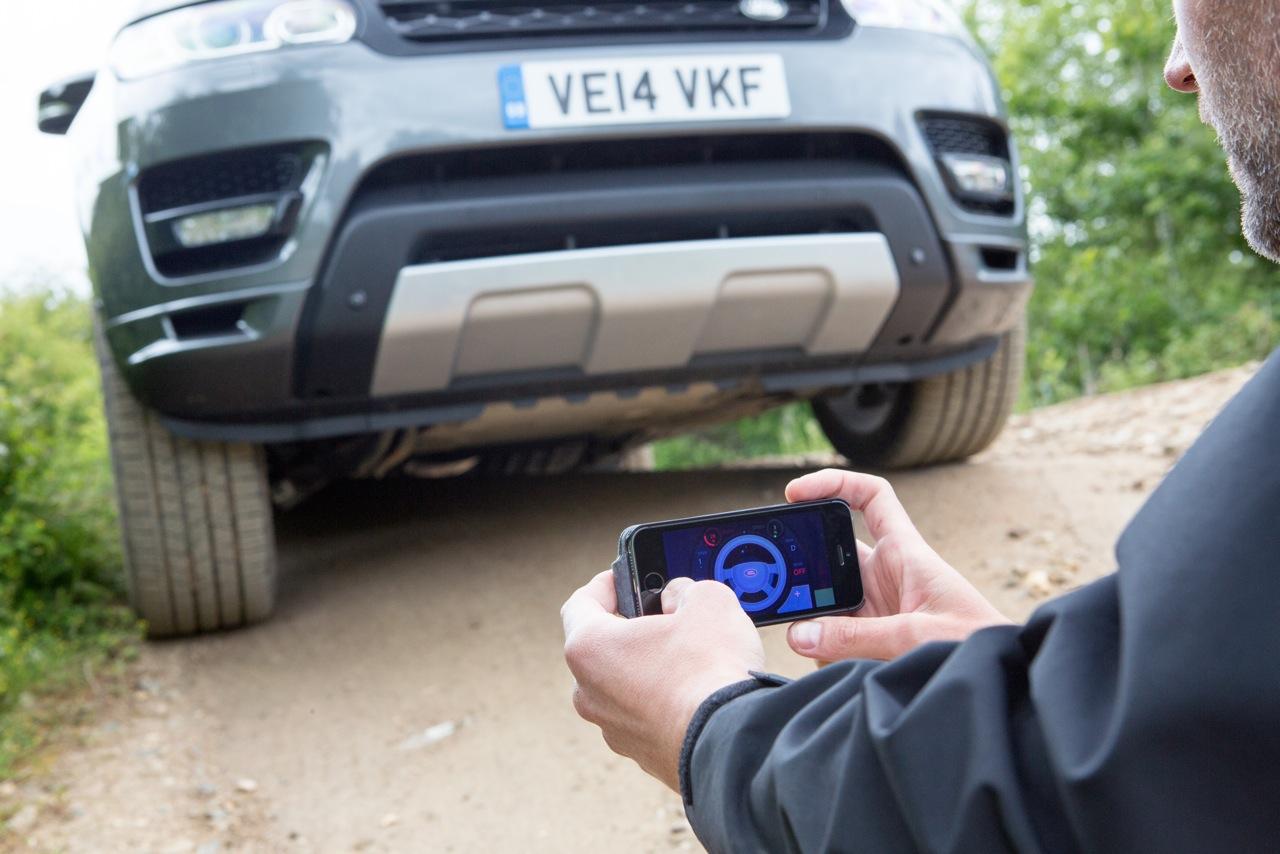Ky prototip i Range Rover mund të komandohet nga një aplikacion