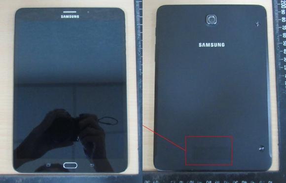 Publikohen imazhe të Samsung Galaxy Tab S2 8.0