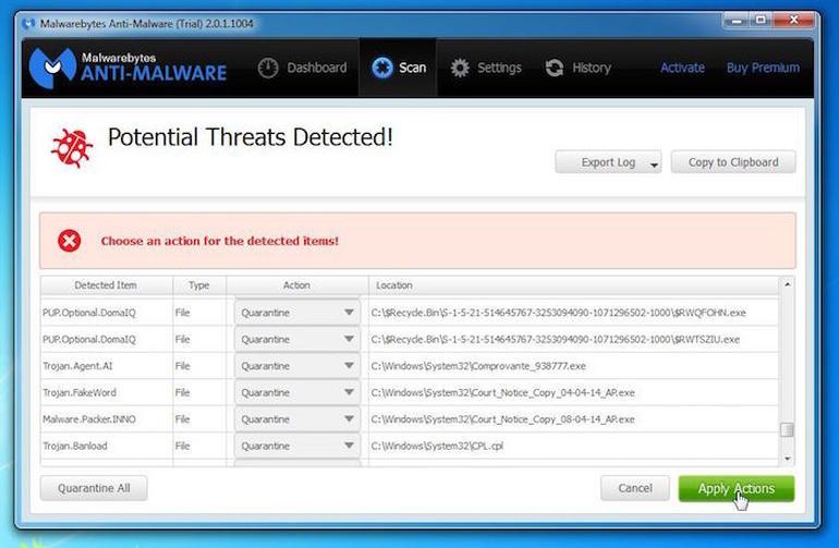 MalwareBytes po ofron antivirusin falas për 12 muaj edhe për liçensat e pirateruara