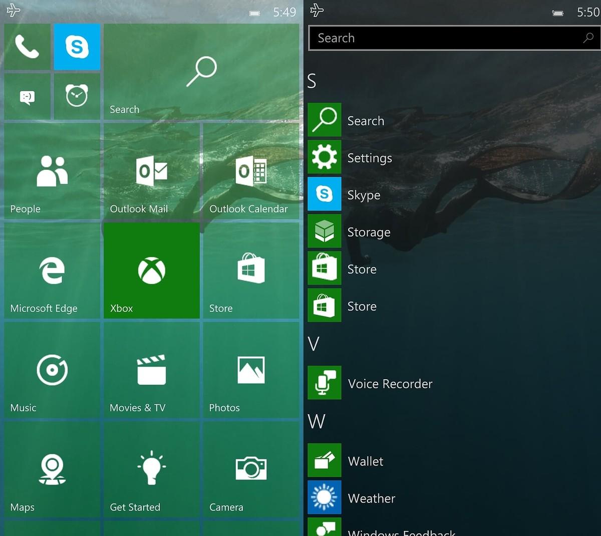 Ky është ndërtimi 10158 i Windows 10-tës për telefonët. Sistemi operativ një hap më afër kompletimit