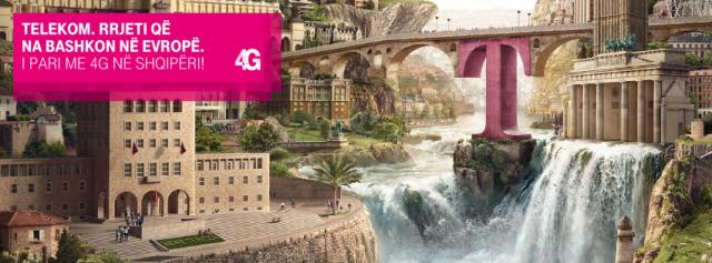 Telekom Albania lançon LTE Advanced. Pretendon shpejtësi transmetimi prej 225 Mbps