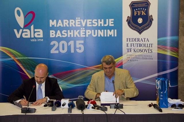 VALA zyrtarisht është sponsor i përgjithshëm i Përfaqësueses së Kosovës në Futboll