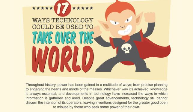 Si mundet teknologjia e ditëve të sotme të pushtojë botën? (Infografik)