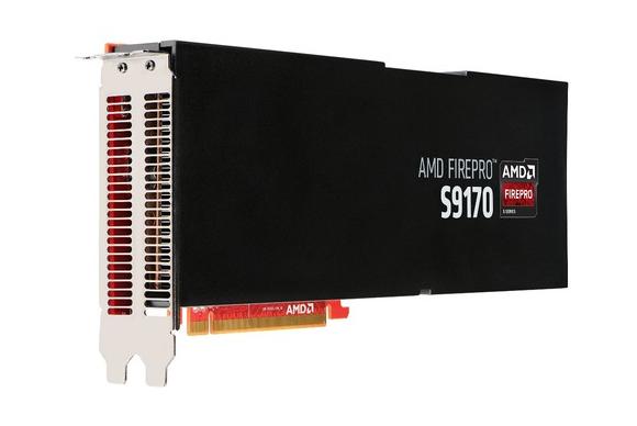 Karta e re grafike profesionale FirePro S9170 e AMD zotëron plot 32 GB RAM