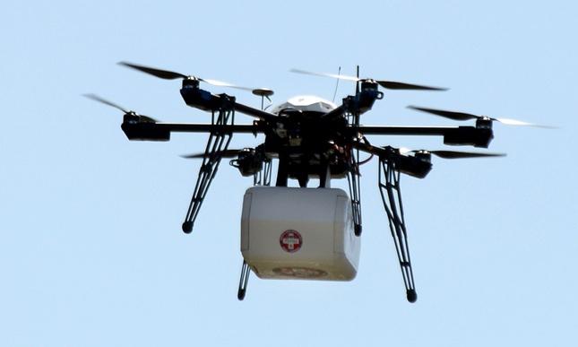 Testohet droni i parë i dërgesave në SHBA. Trasportohen barna mjekësorë