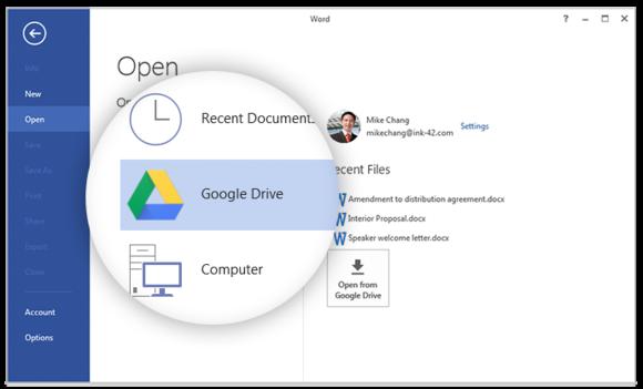 Kur e pamundura bëhet realitet: Google Drive bëhet pjesë e Microsoft Office