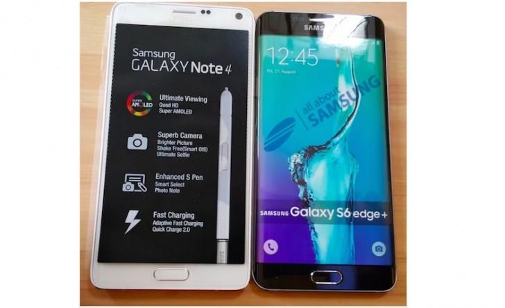 Samsung Galaxy S6 Edge Plus me ekran 5.7 inç pozon përpara kamerës