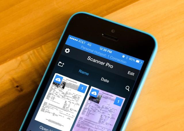 Scanner Pro 6 thjeshtëson skanimin e dokumenteve në iPhone