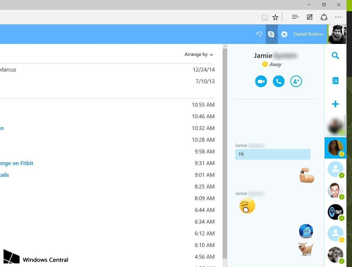 Skype në Outlook.com mund të kryejë video thirrje nga shfletuesi Microsoft Edge