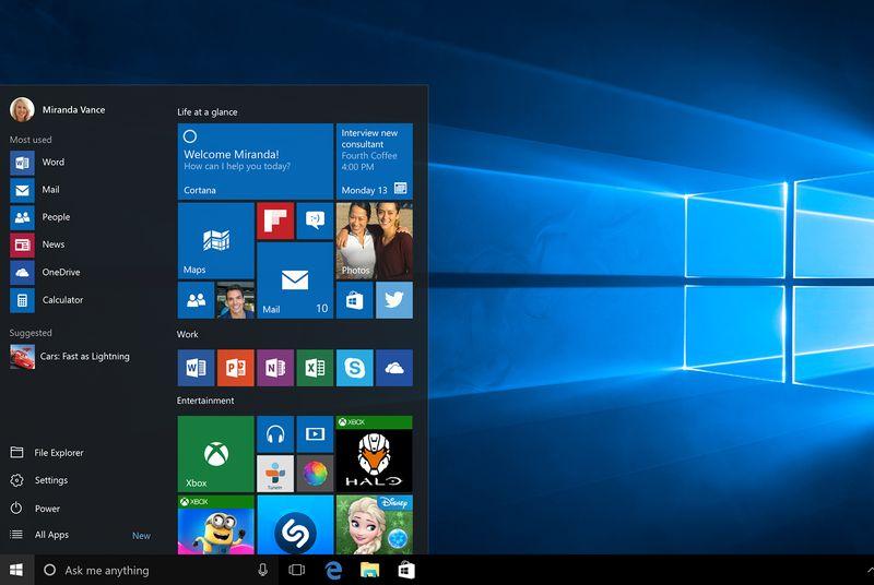 Microsoft ja dedikon testuesve të Windows Insider debutimin e Windows 10-tës