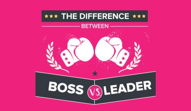 Ku dallon një Shef nga një Lider? (Infografik)
