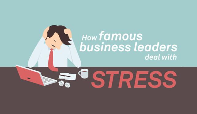 Si e përballojnë stresin liderat e njohur të biznesit? (Infografik)