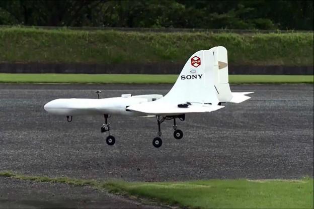 Sony ka ndërtuar një dron që ngjason me një aeroplan në miniaturë