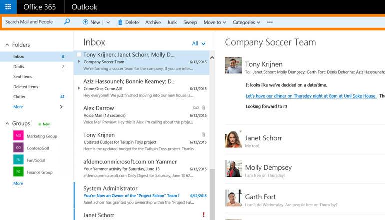 Microsoft detajon ndryshimet që po vinë në ueb aplikacionin Outlook Web për abonentët e Office 365