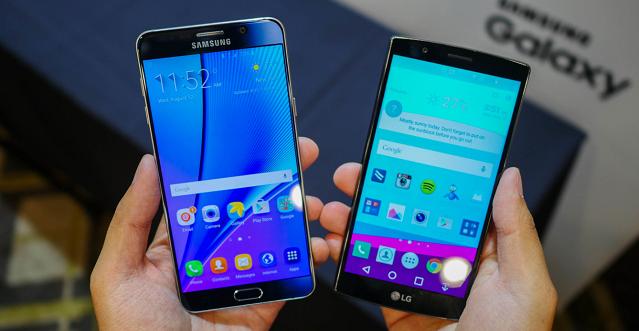 Samsung Galaxy Note 5 vs Konkurrenca: Si krahasohen?