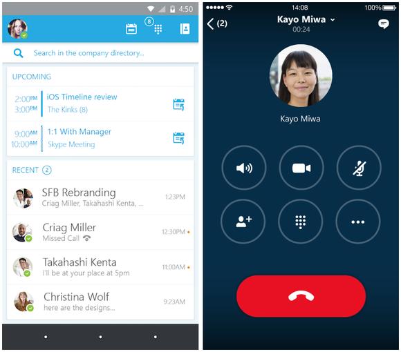Microsoft teston një beta private të aplikacionit Skype for Bussines në Android dhe iOS