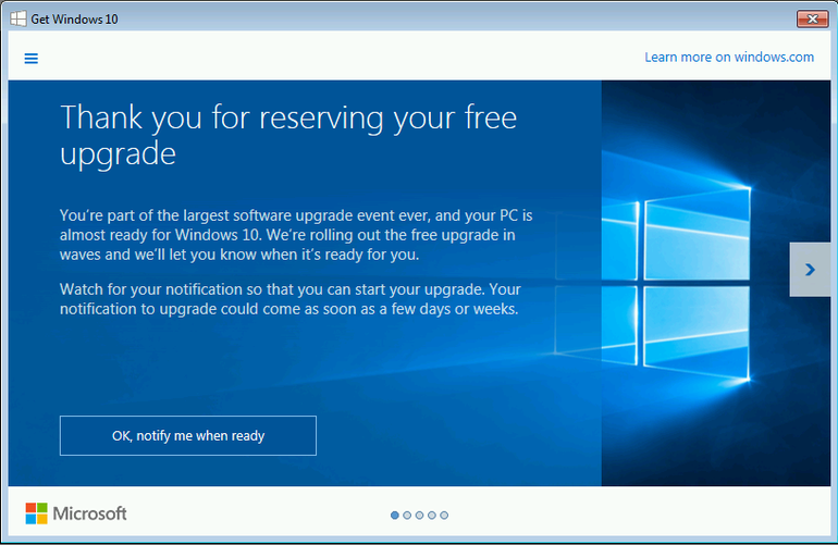 thans-for-reserving-windows-10