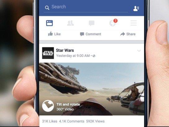 Facebook ndjek hapat e Youtube! Sjell video 360 gradëshe në rrjetin social