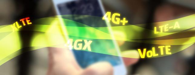 Çfarë janë 4G LTE, 4G+, 4GX, LTE-A, XLTE?