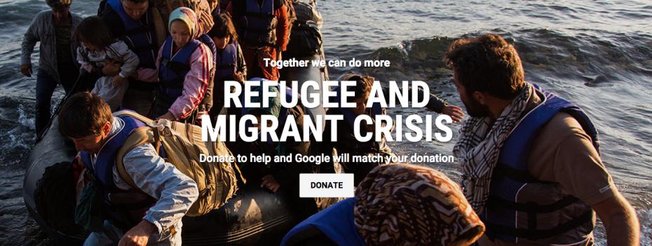 Google do të ofrojë 5.5 milion dollar në ndihmë të krizës së refugjatëve